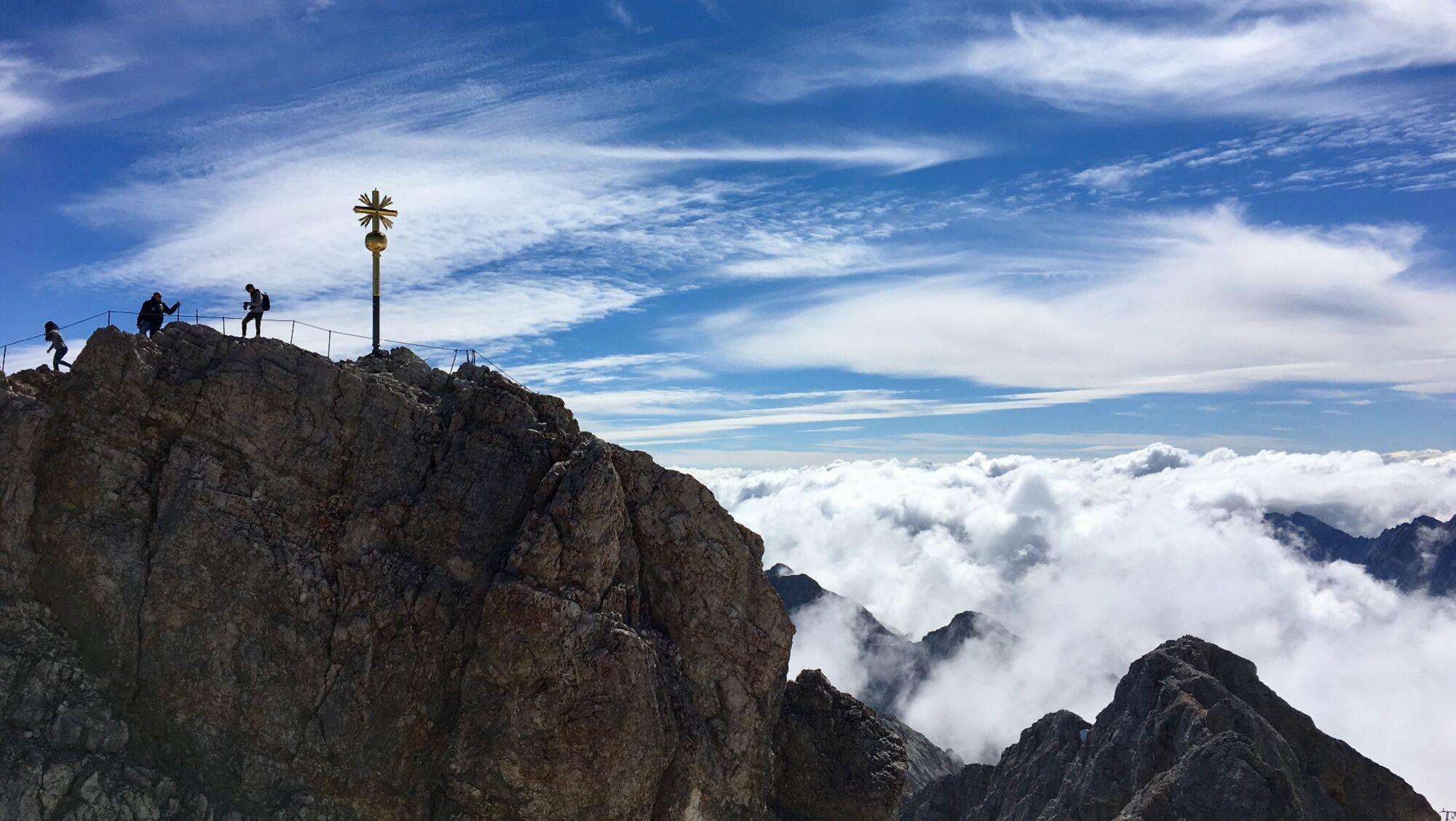 Am 27. August jährt sich die Erstbesteigung der Zugspitze zum zweihundertsten Mal