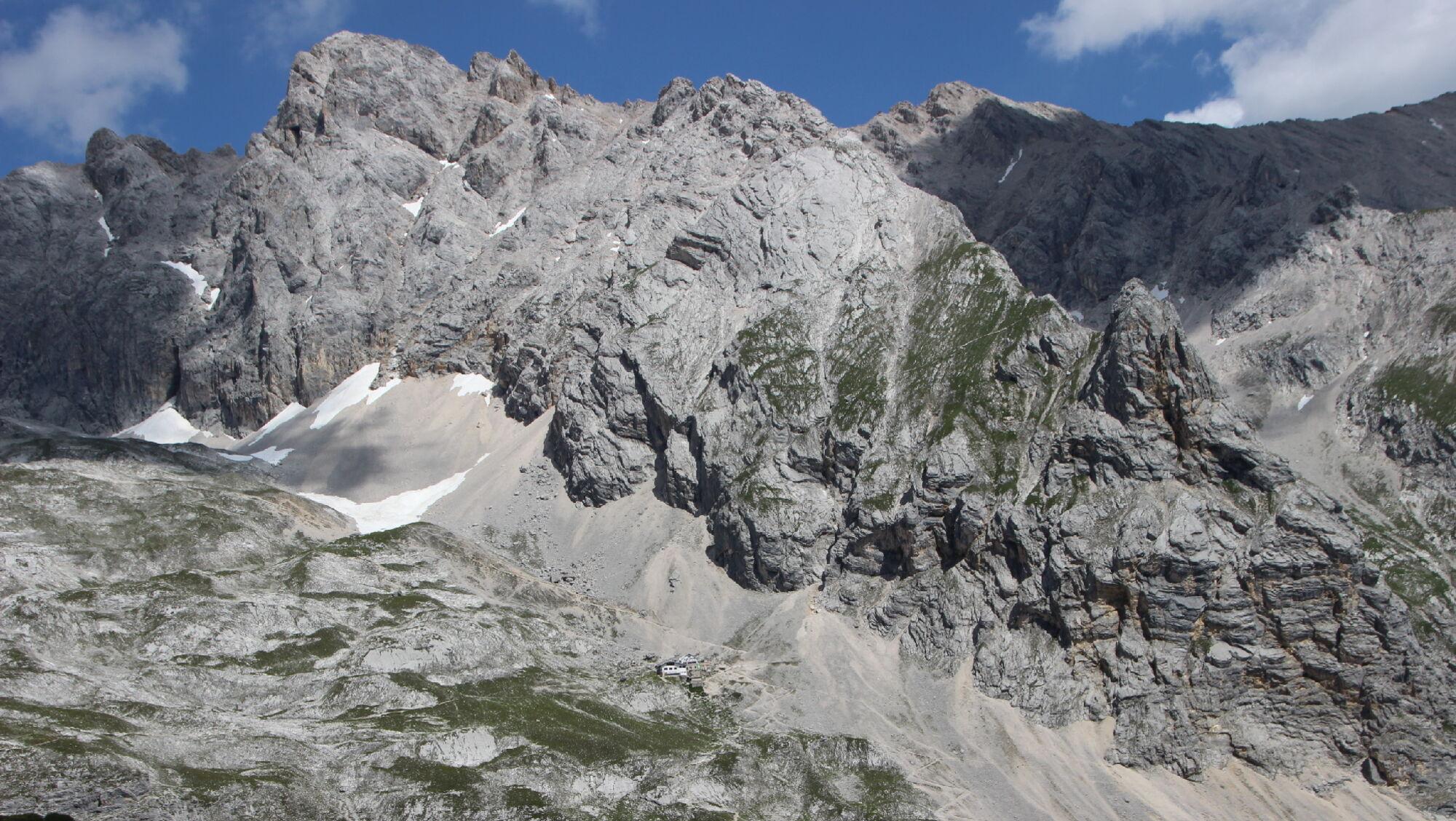 Der Weg zum Gipfel der Zugspitze
