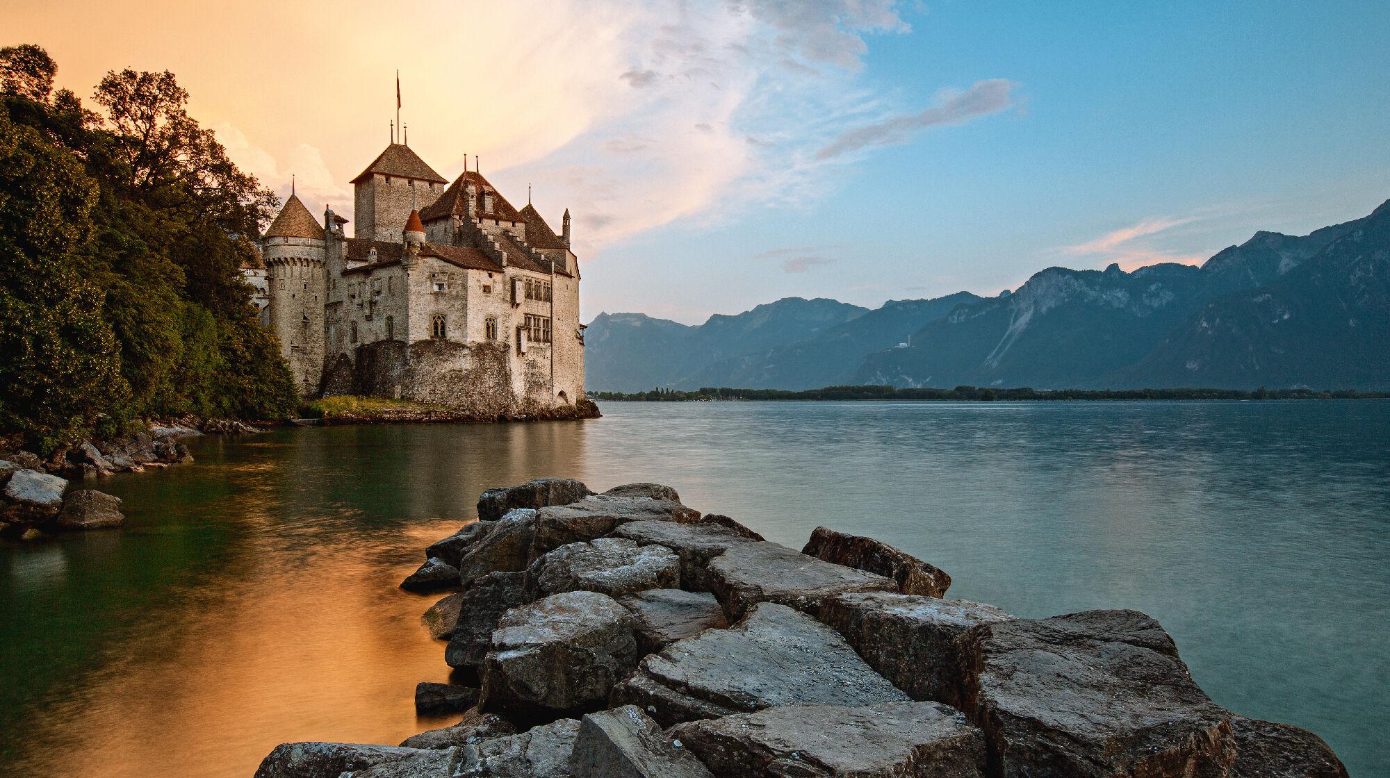 Schloss Chillon am See