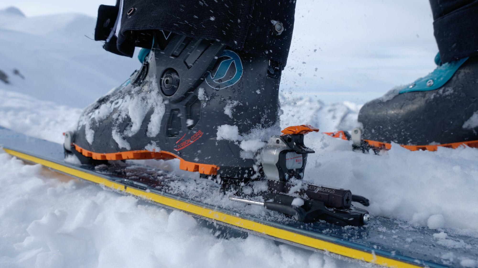 Skitourenbindung von ATK Bindings