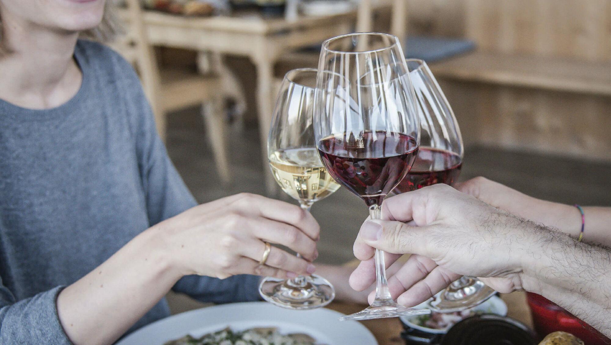 Der neue Wein wird gefeiert