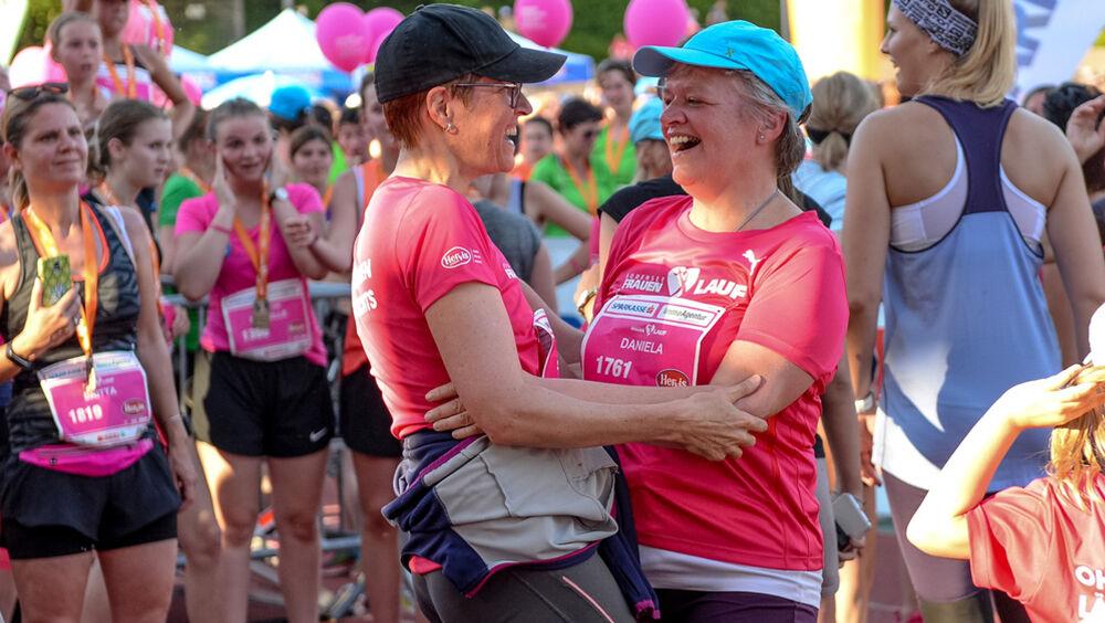 Teilnehmerinnen beim Bodensee Frauenlauf