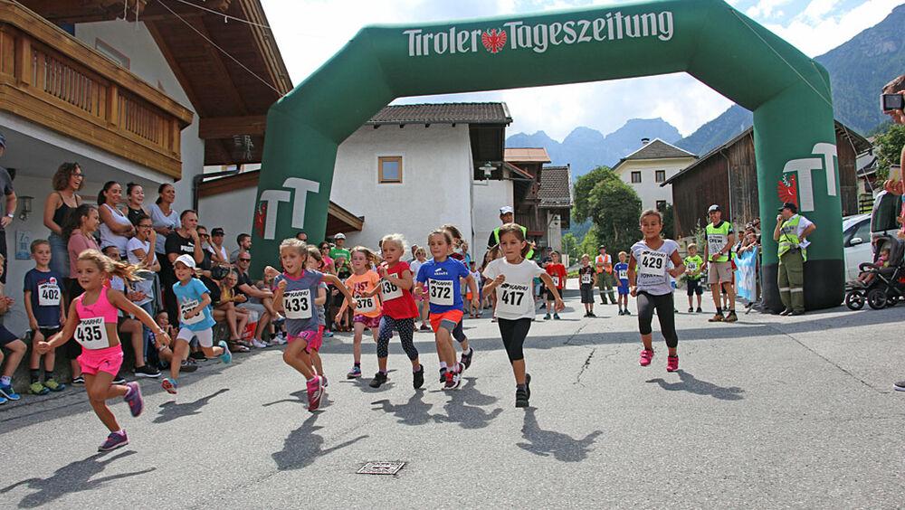 Auch ein Kinderlauf wird ausgetragen