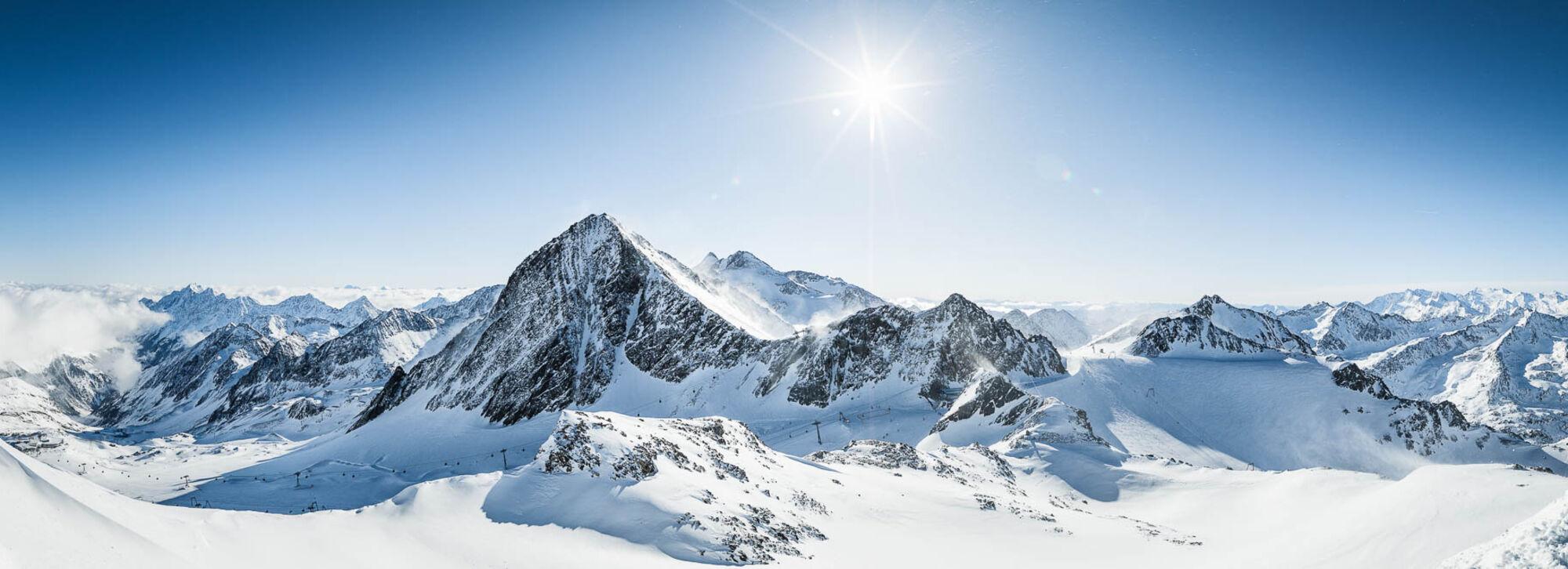 Panorama Stubaier Gletscher