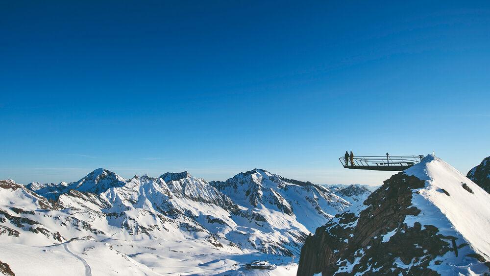 Panoramablicke vom Top of Tyrol