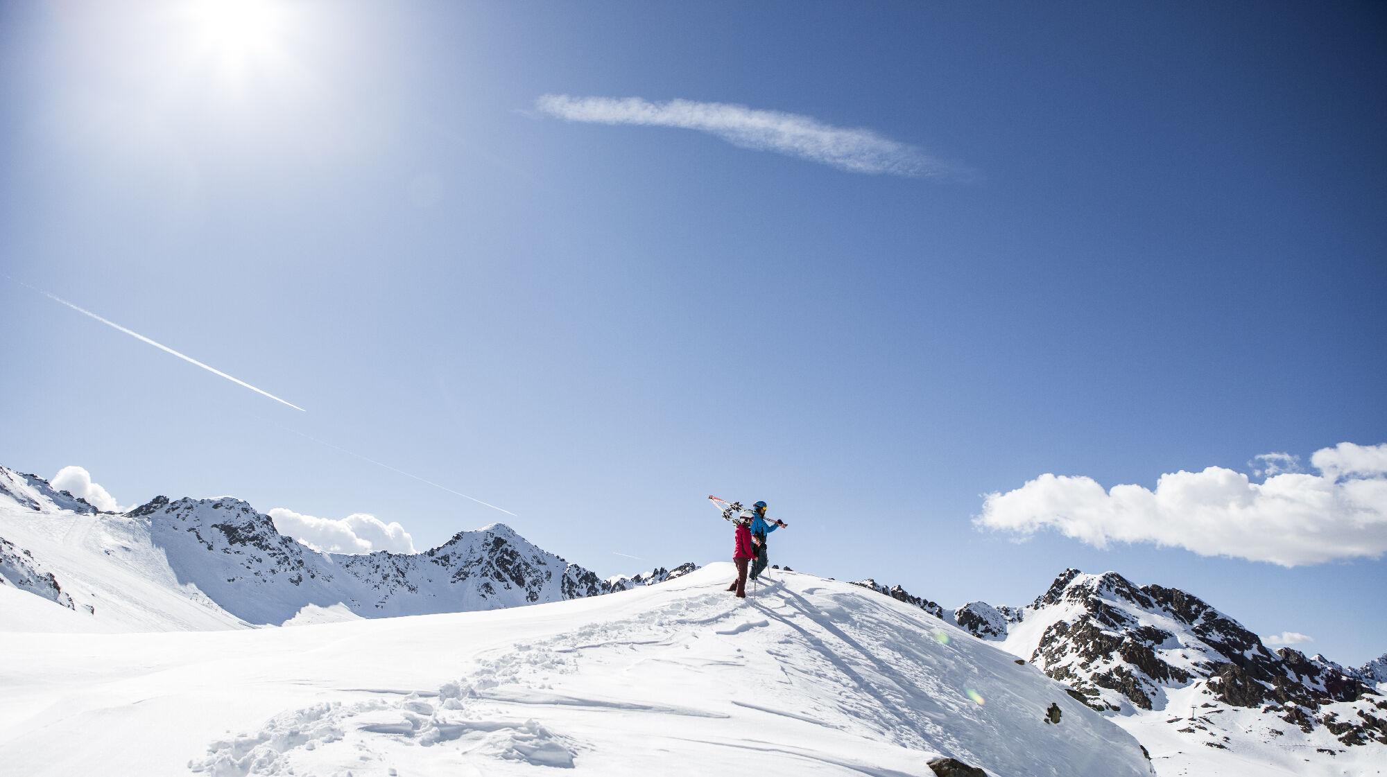 Wintergenuss am Kaunertaler Gletscher