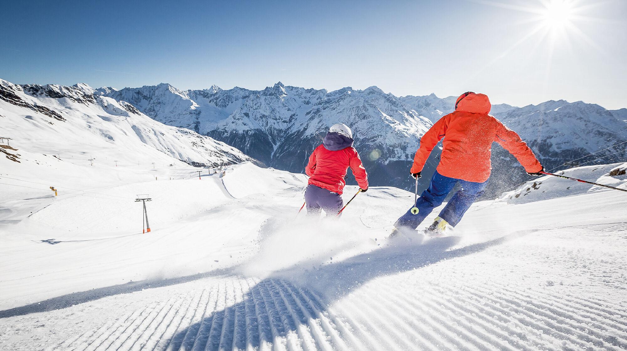 Skispaß in Sölden