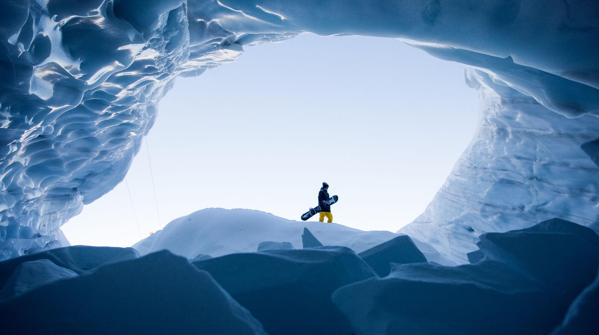 Das ewige Eis am Hintertuxer Gletscher