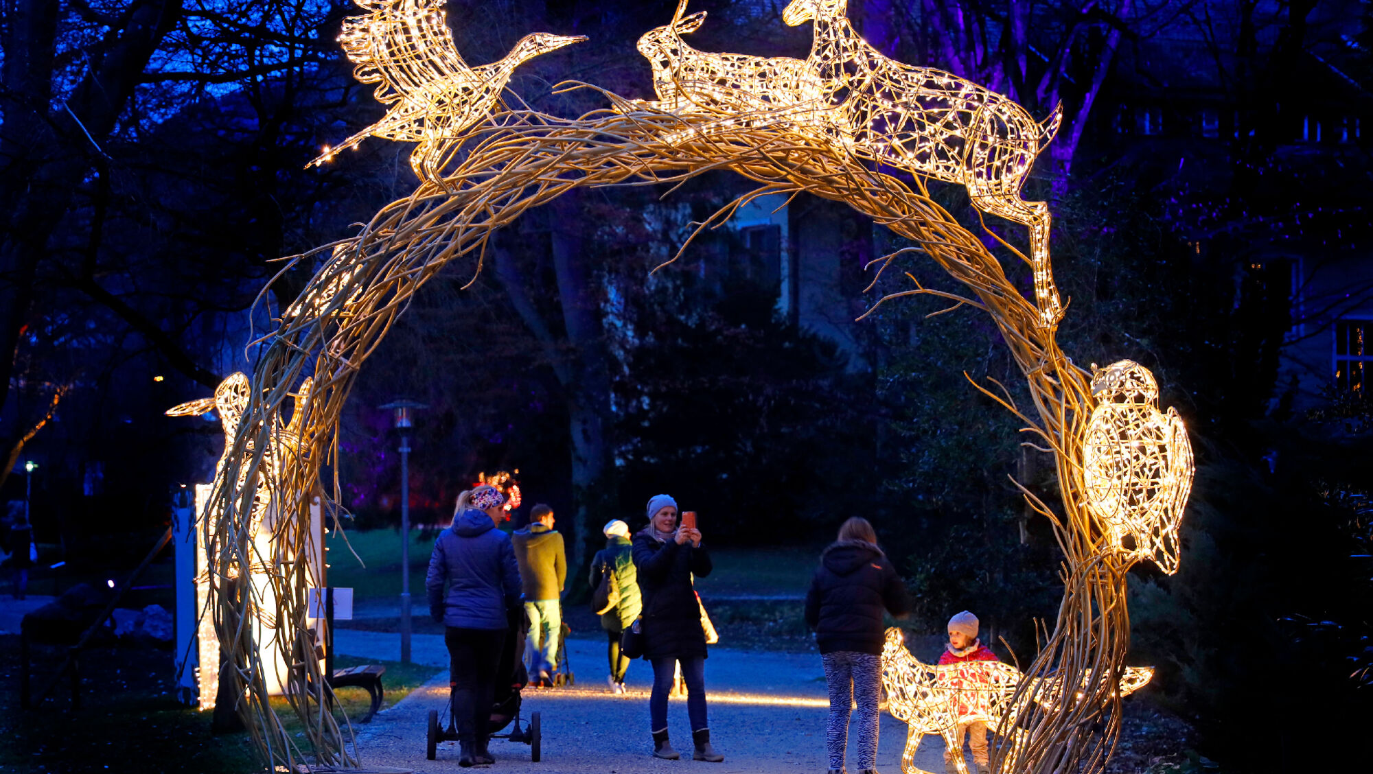 Höhepunkt für die ganze Familie: Lumagica Hofgarten Innsbruck