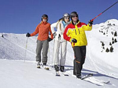 Skifahren mit der Allgäu Gletscher Card