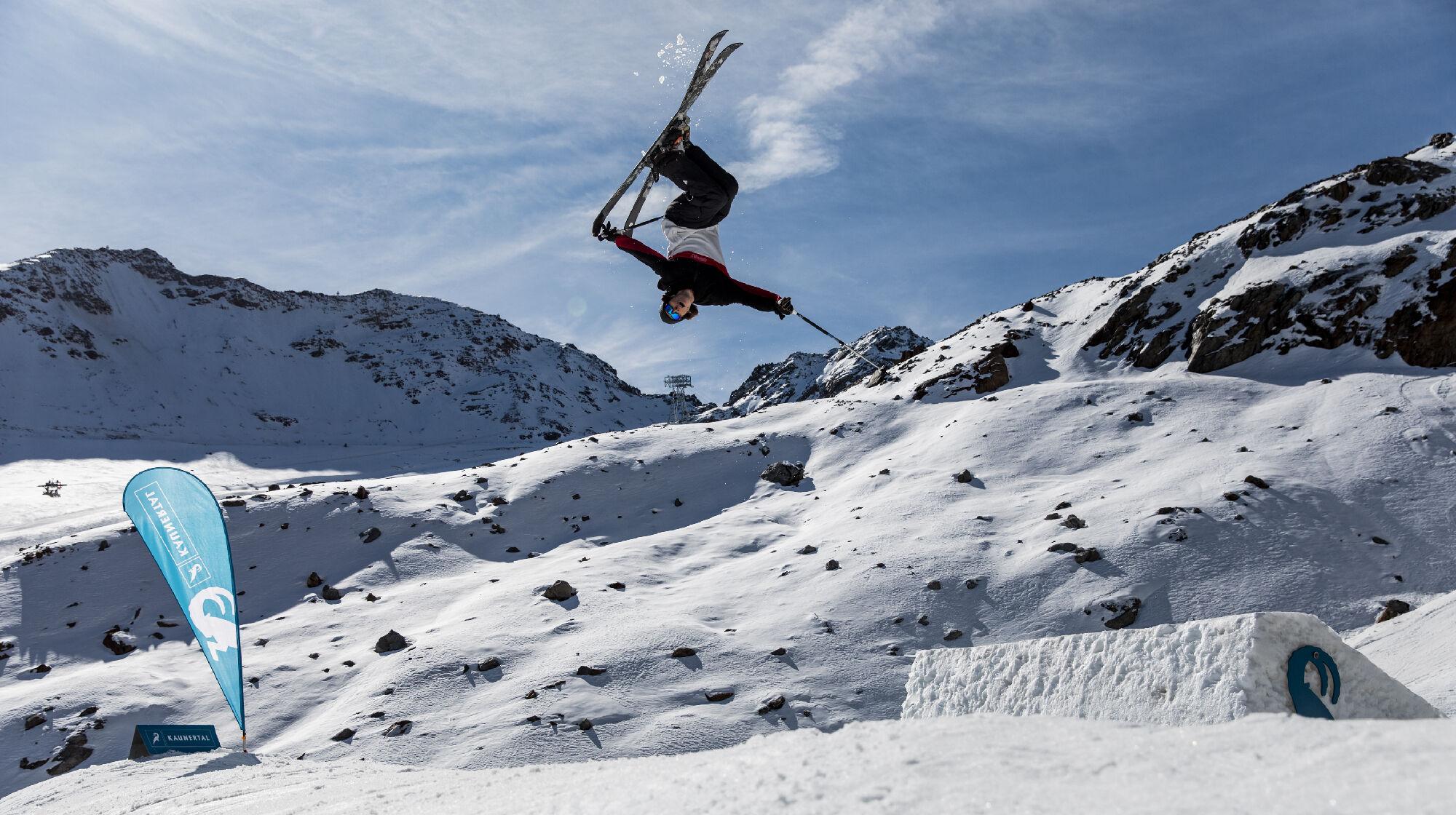 #naturerun kicker im Snowpark Kaunertal