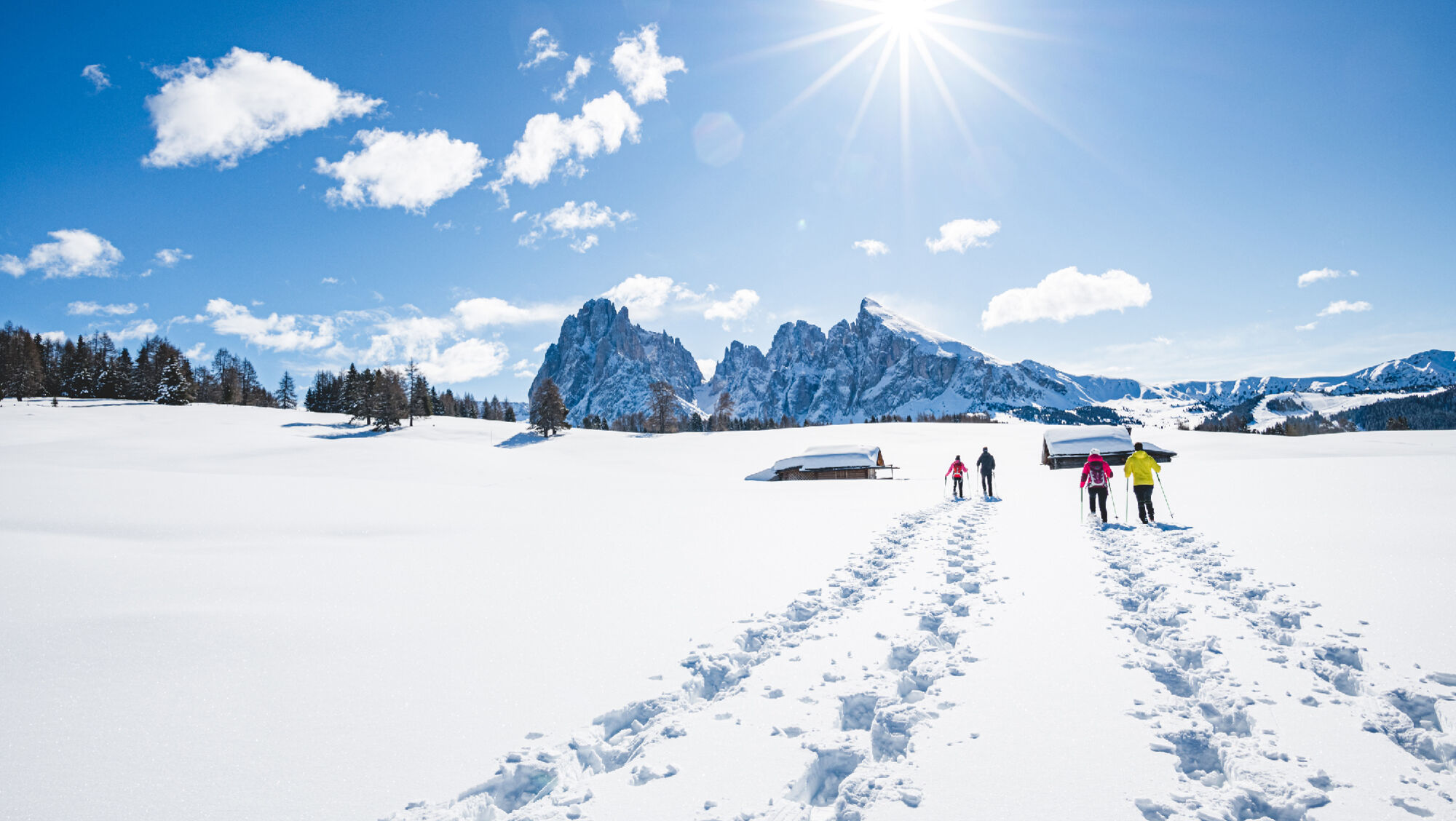 Winterwandern in Gröden