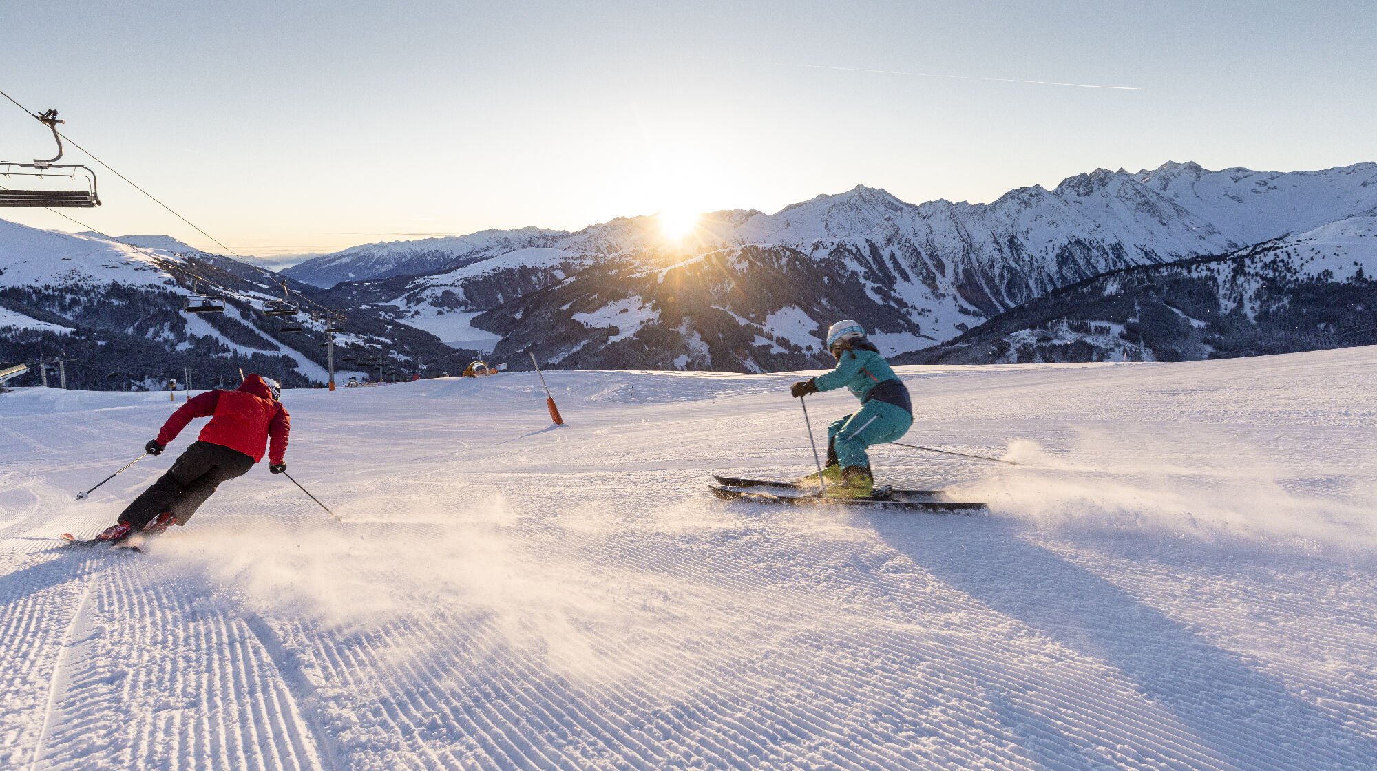 Good Morning Skiing in der Zillertal Arena