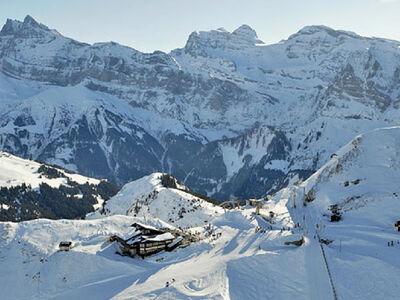 Bergpanorama im Skiverbund Les Portes du Soleil