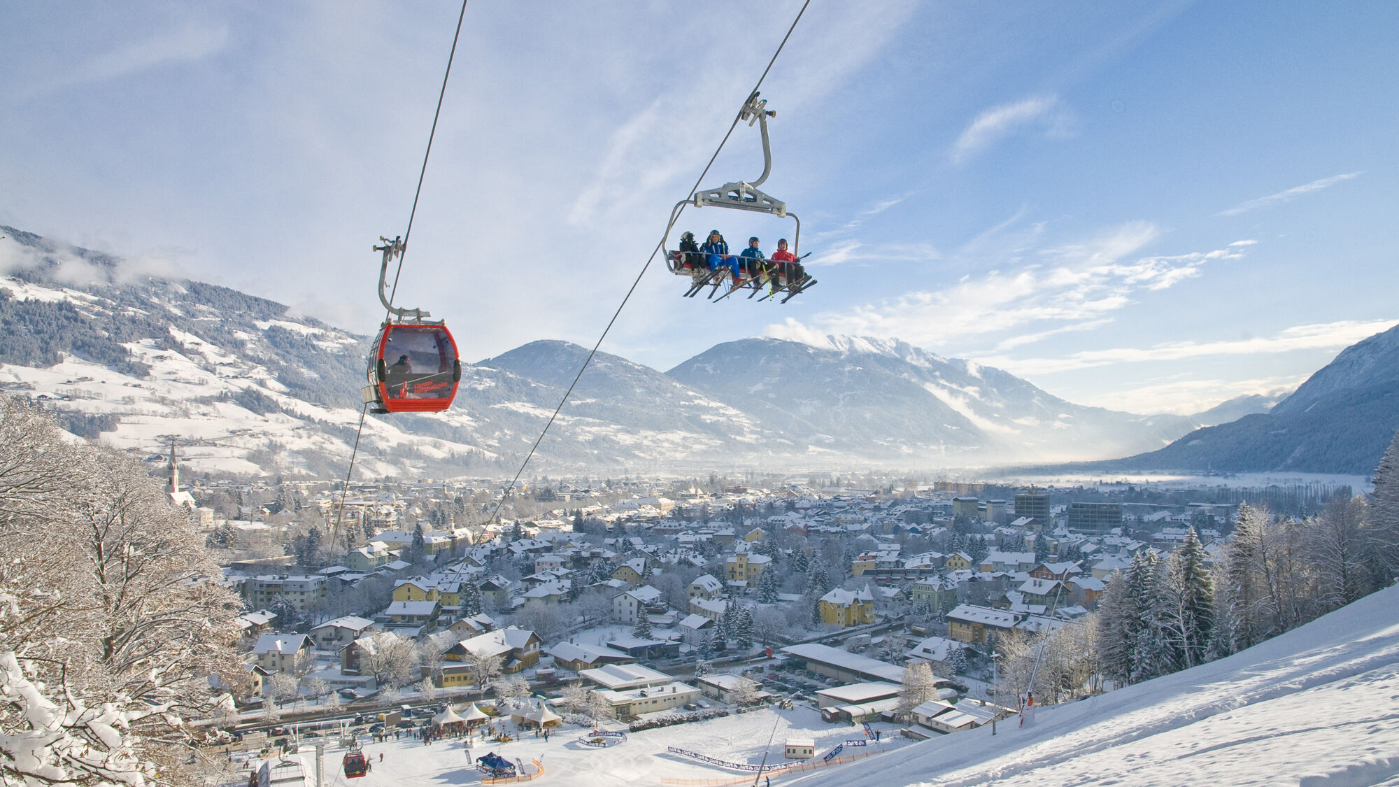 Skifahren am Hochstein in Osttirol