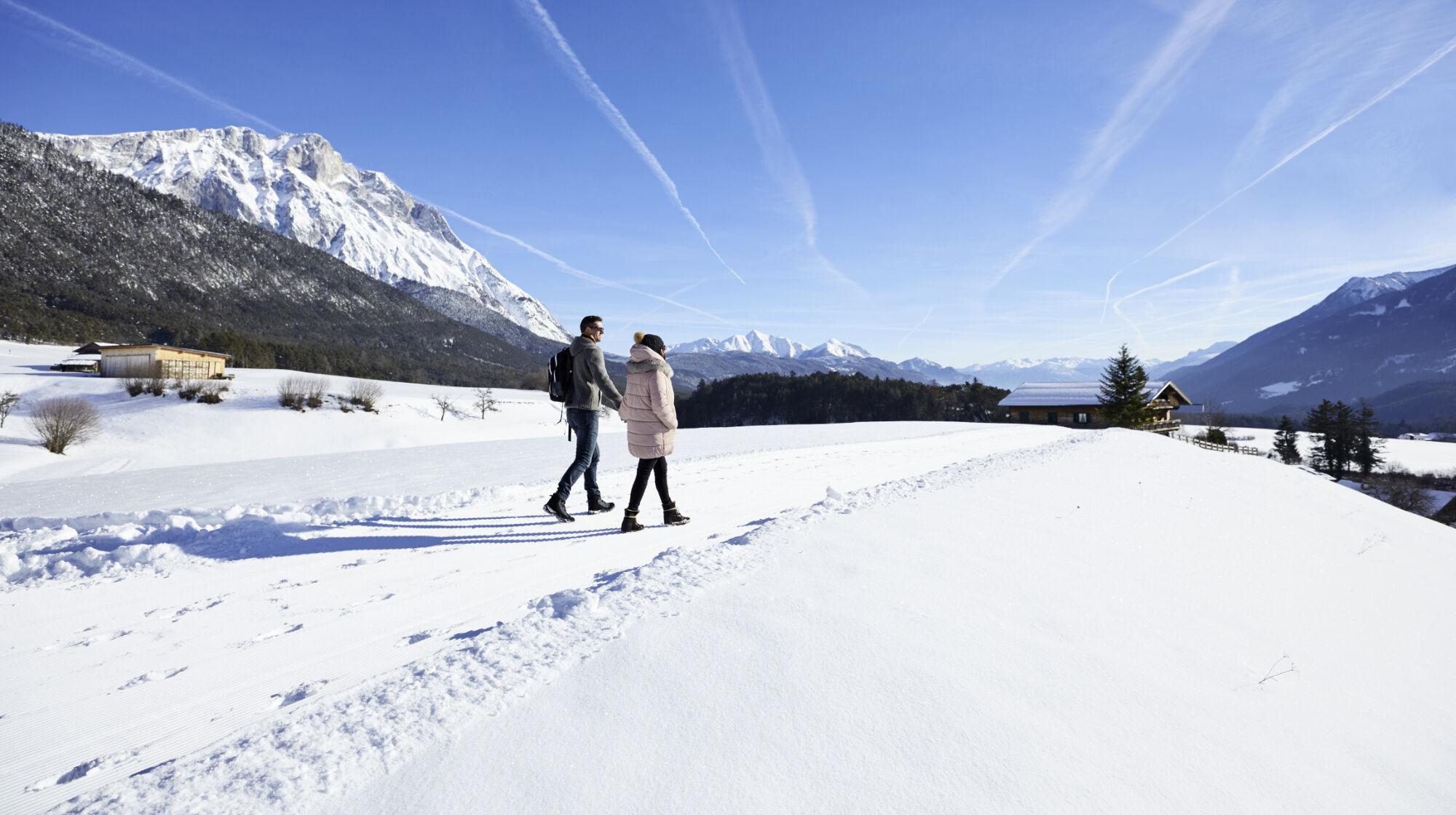 Winterwandern in Innsbruck