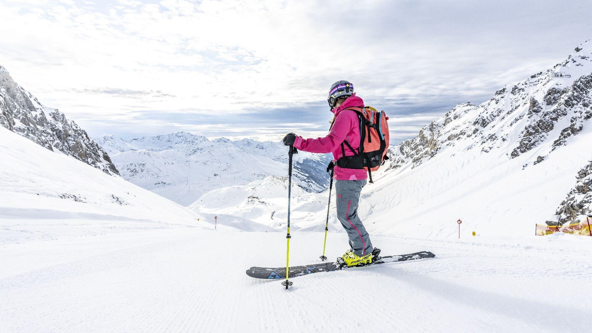 Pisten von St. Anton am Arlberg/Österreich