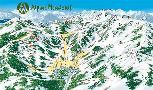 Alpine Meadows - The Frontside © Alpine Meadows