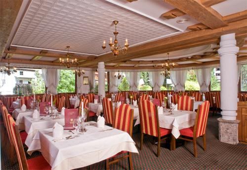 Das Restaurant vom Alpenhotel Fernau in Neustift im Stubaital