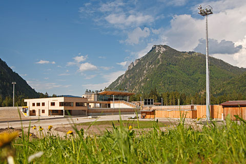 Chiemgau-Arena Ruhpolding im Sommer