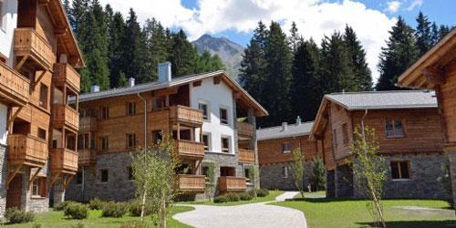 Hausansicht Landal Alpine Lodge Lenzerheide