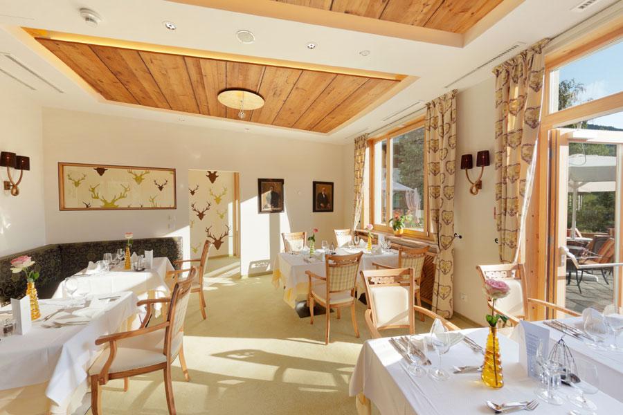 Das Restaurant im Hotel Die Post Ronacher