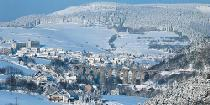 Blick auf Willingen im Winter © Tourist-Information Willingen