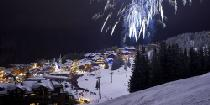 Feuerwerk über Courchevel © Courchevel Tourisme/David André