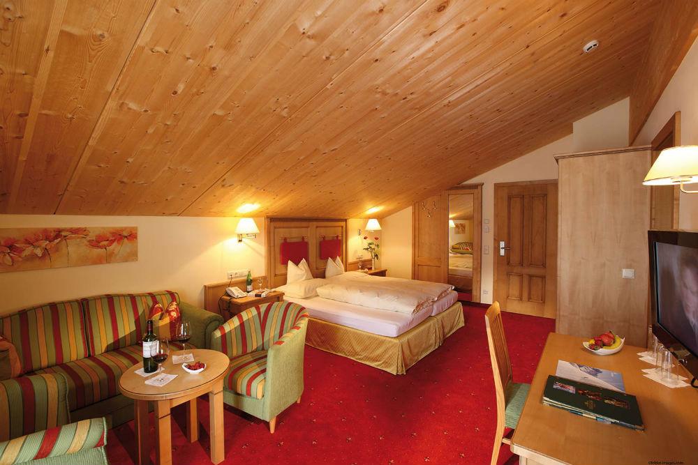 Die Montana Suite im Hotel Montana in St. Anton am Arlberg