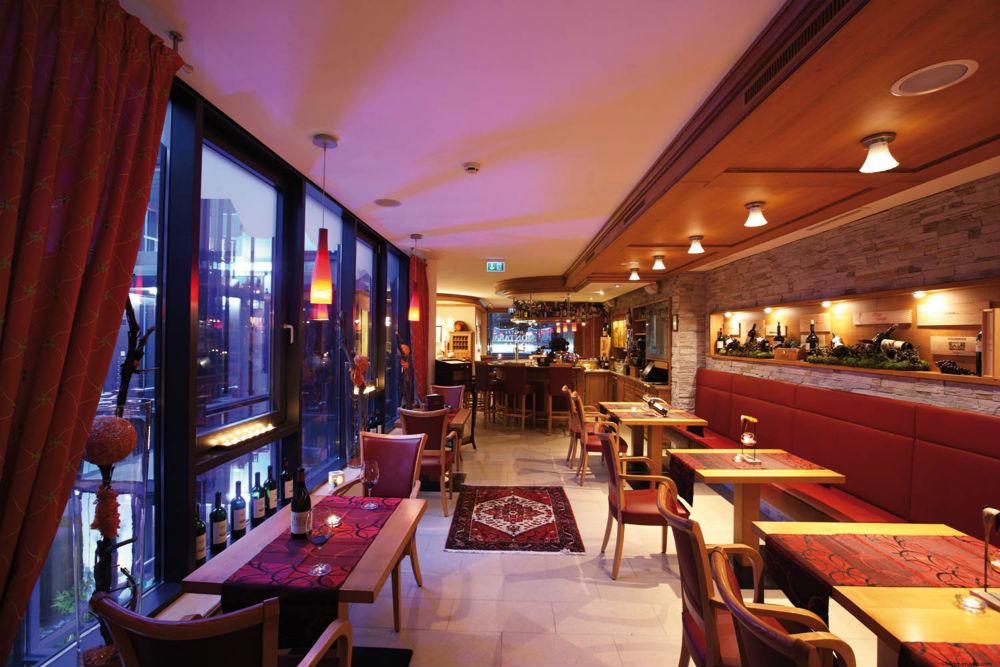 Das Restaurant im Hotel Montana in St. Anton am Arlberg