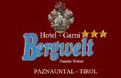 Logo Hotel Garni Bergwelt