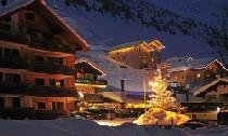 Winterliche Abendstimmung in Malbun Liechtenstein © Liechtenstein Marketing