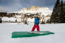 Kids Snow Park im Skigebiet Carezza Ski © Eggental Tourismus/F-TECH