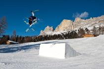 Snowpark Christomannos - Carezza Skigebiet © Eggental Tourismus