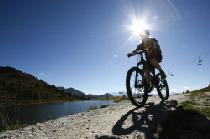 Mountainbiker in Nendaz © Nendaz Tourisme