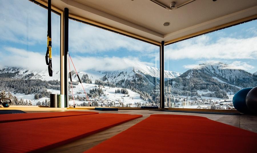 Brüüge 1.085 Multiraum für Fitness, Workshops, Dinner for 2 mit 180° Panoramablick im Genuss- & Aktivhotel Sonnenburg