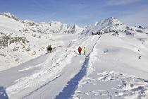 Winterwandern in der Aletsch Arena © Wallis Tourismus