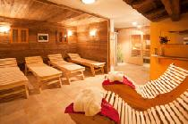 Der Wellnessbereich in den Sonnfeld Appartements in Flachau