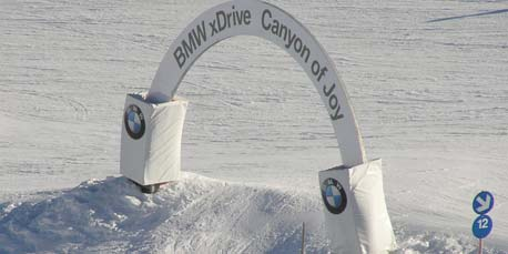 BMW xDrive Canyon of Joy in Hochfügen