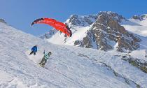 Skiparagliding in Vallnord © Valls del Nord S.A