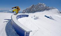 Freestylen im Superpark Dachstein © Jan Zach