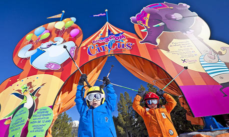 Bababoom Circus in El Tarter