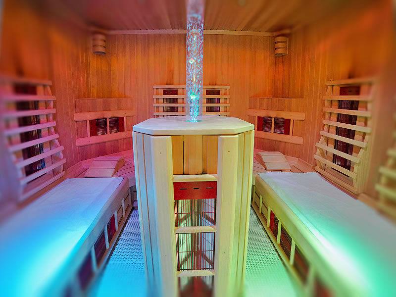 Die Sauna im Hotel Tauernhof in Kleinarl
