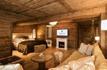 Die Top Suite 'Storchennest Plus' im Landromantik Wellnesshotel Oswald