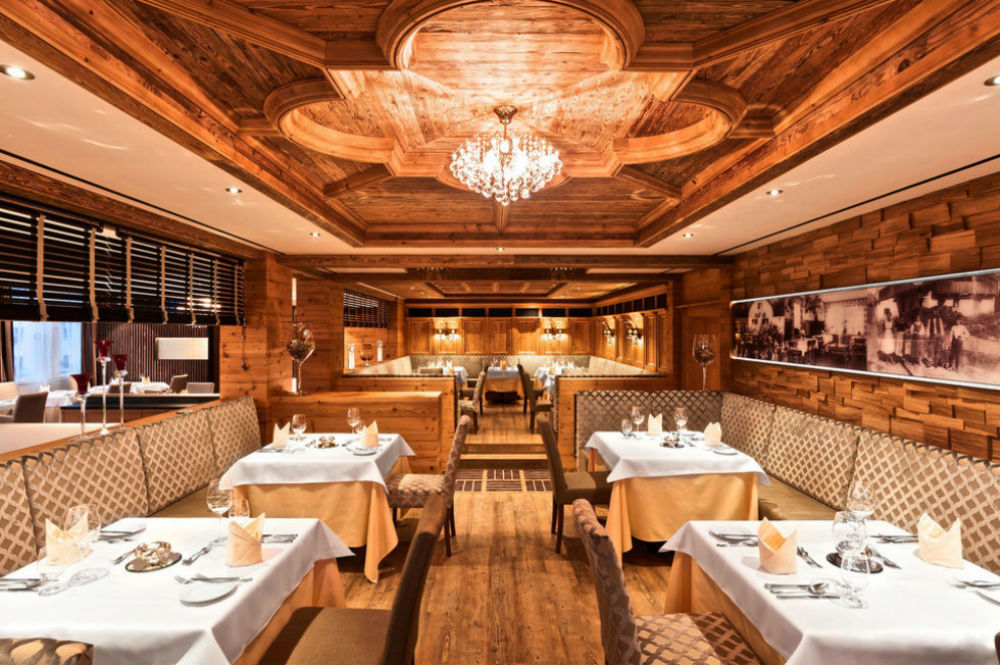 Das Restaurant 'Mariastube' im Landromantik Wellnesshotel Oswald