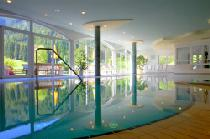 Pool im Hotel Seeber in Ratschings