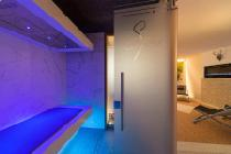 Wellnessbereich im Alpine Superior Hotel Fanes in Wolkenstein