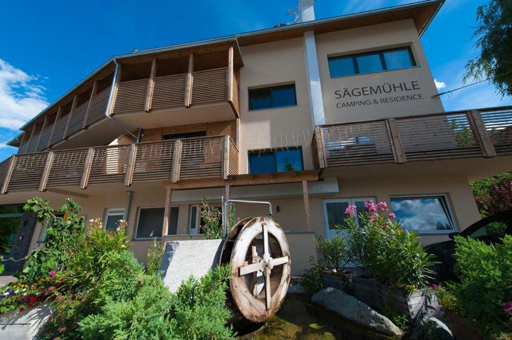 Sommerhausbild der Residence Sägemühle in Prad am Stilfserjoch