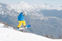 Snowboarder in Serre Chevalier © OT / Mir Photos