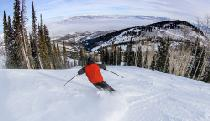 Skifahrer im Gebiet Dreamcatcher in Park City © Vail Resorts